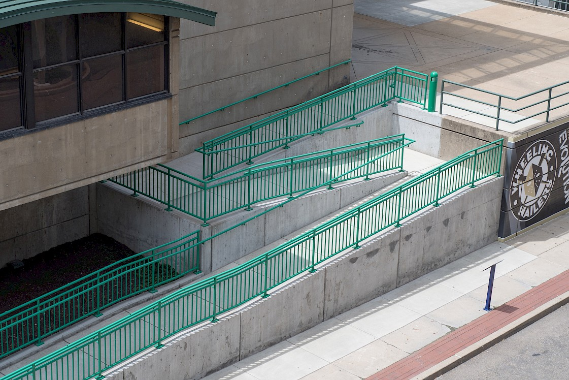 ADA Railing with Pickets