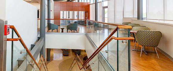 Glass | Architectural Handrail by Hollaender